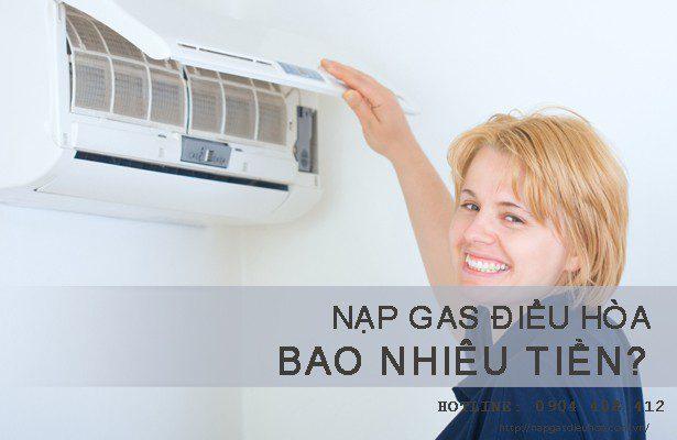 Nạp gas điều hòa bao nhiêu tiền? Cách tính giá gas điều hòa?