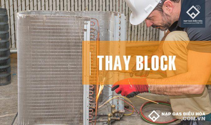 Thay block điều hòa chuyên nghiệp giá rẻ