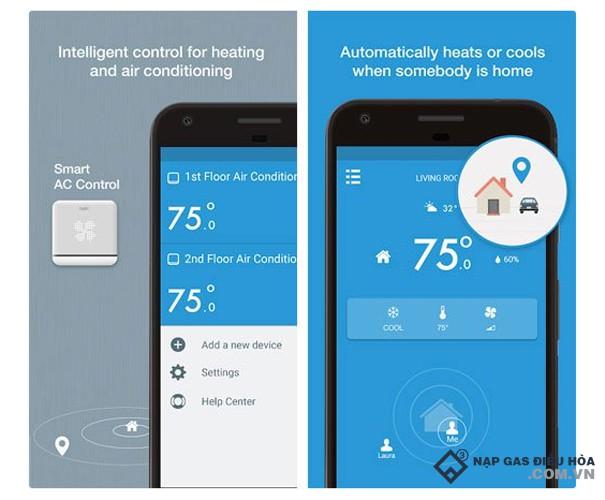 Ứng dụng điều khiển điều hòa Tado Cooling for IOS