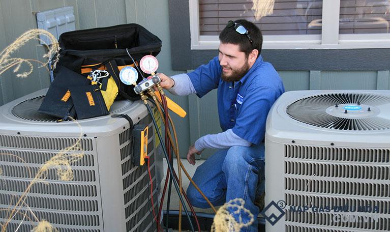 Nạp gas điều hòa là giải pháp số 1 để khắc phục tình trạng này