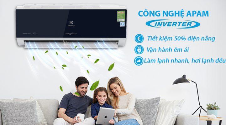 Tiết kiệm điện năng với công nghệ Inverter