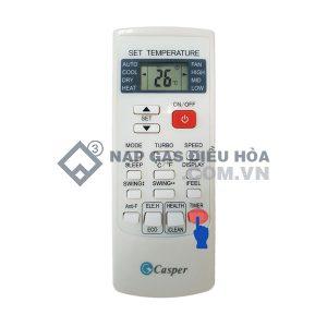 Điều khiển điều hòa Casper chính hãng cho máy 1 chiều/ 2 chiều