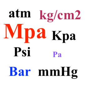 Đổi đơn vị Psi sang Bar, Mpa, Pa, Kgf Cm2, Tấn