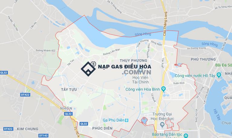 Điểm điểm dịch vụ nạp gas điều hòa tại Bắc Từ Liêm