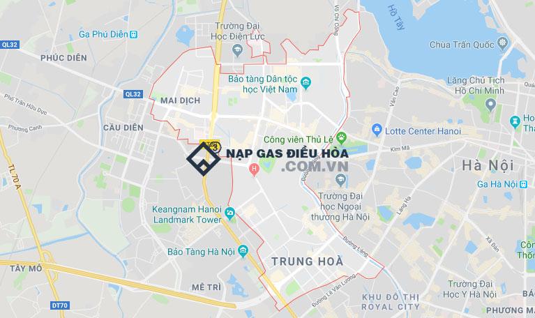Nạp gas điều hòa tại Cầu Giấy cam kết 100% gas nhập khẩu Ấn Độ