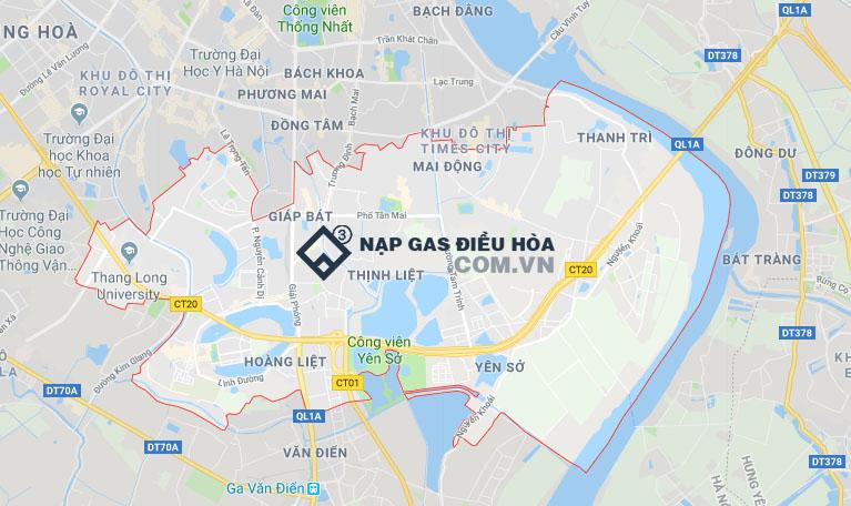Nạp gas điều hòa tại Hoàng Mai nhanh chóng chỉ 30 phút thợ tới liền