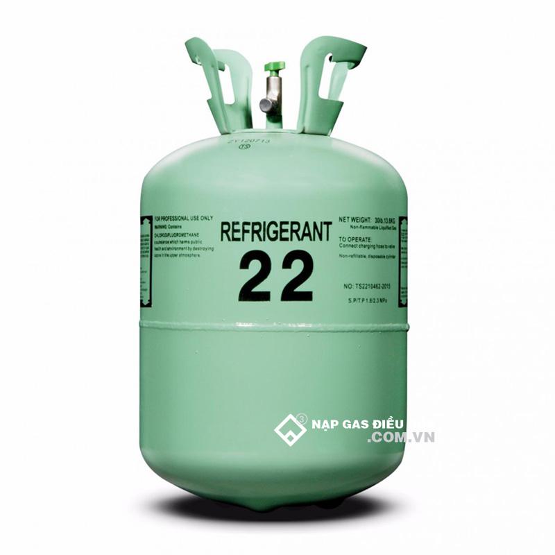 Bình gas R22 Ấn Độ (Refrigerant)