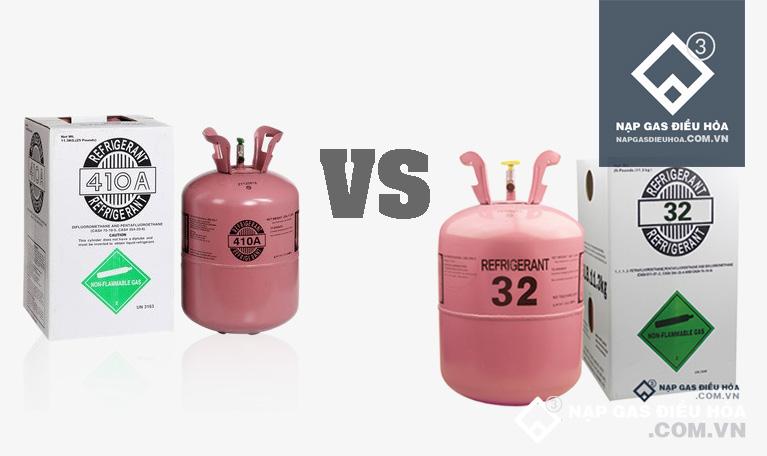 So sánh: Gas R32 và R410 loại nào tốt? Có thay thế nhau được không?